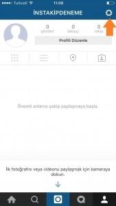 instagram facebook ayarları