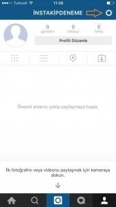 instagram secenekler