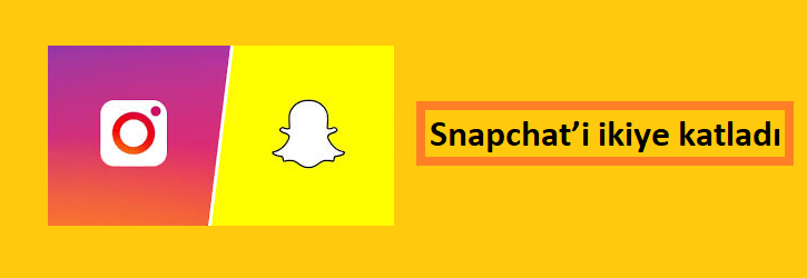 Instagram Snapchat'i İkiye Katladı