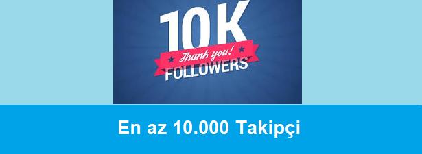 10k instagram takipçi