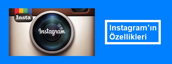 instagram'ın özellikleri