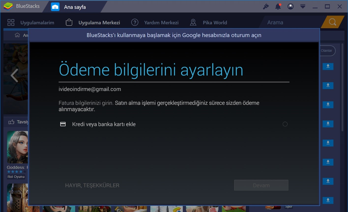 bluestacks yükle3